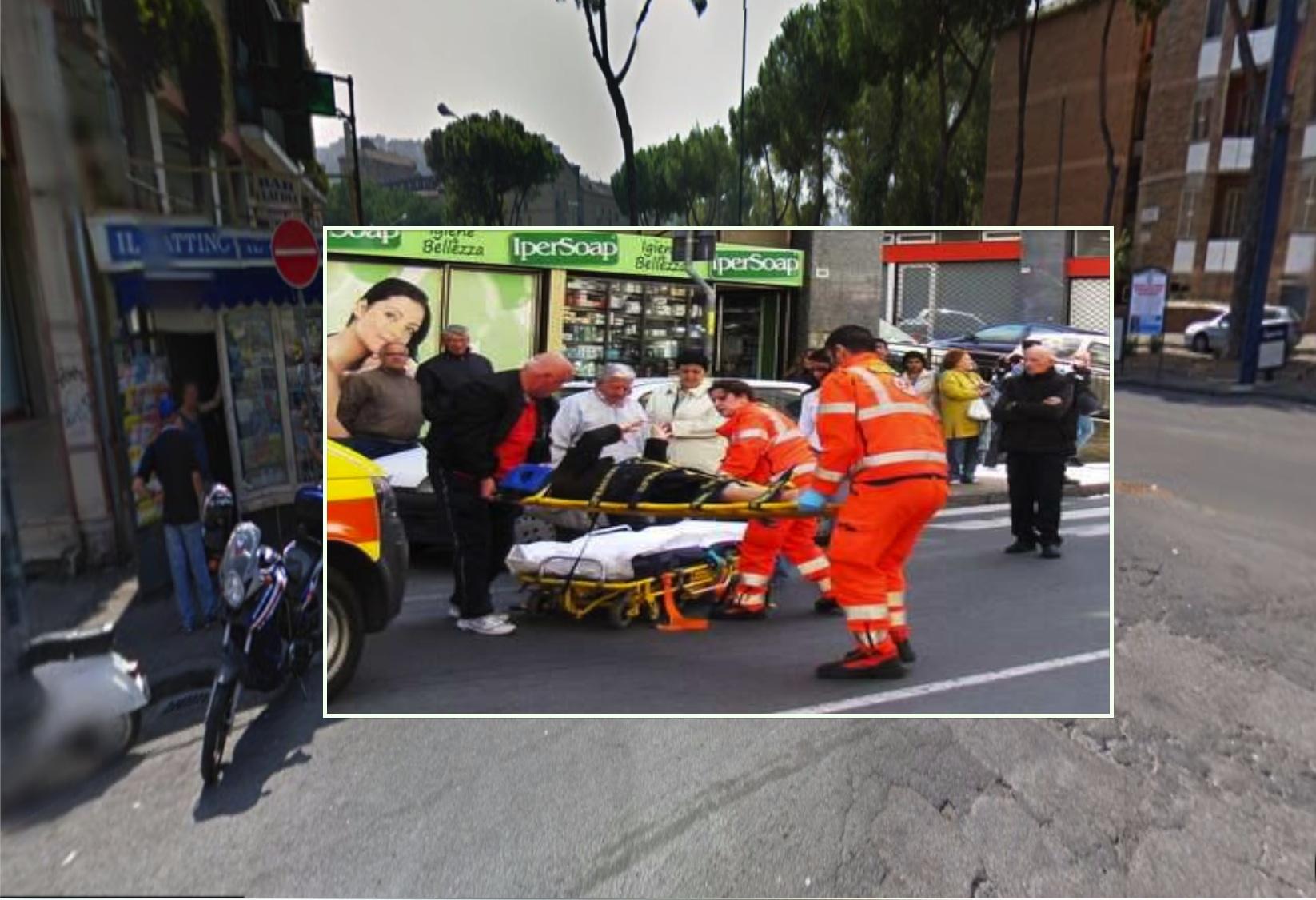 Napoli, investe e uccide una 83enne sulle strisce pedonali