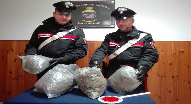 Palermo, 15 chili di hashish in casa: arrestata una casalinga
