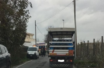 ambulanze tre due auto distrutte via madonna pantano incidente